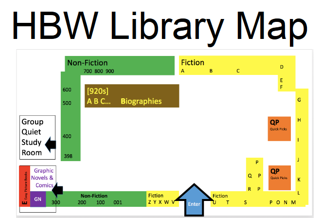 HBWLibrary Map
