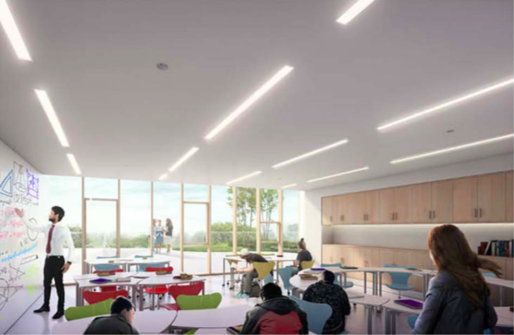 Interior rendering