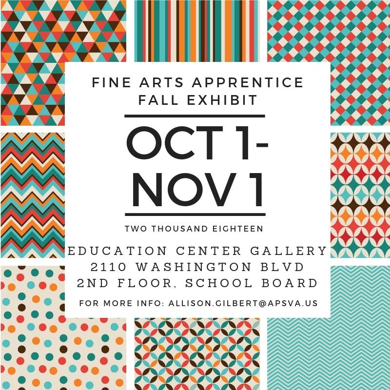 Apprentice Fall Exhibit
