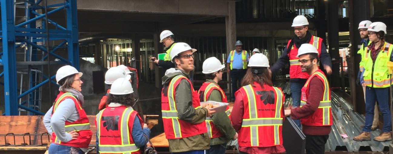 October Wilson Building Construction Updates