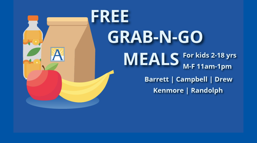 Grab and Go Meals Available!