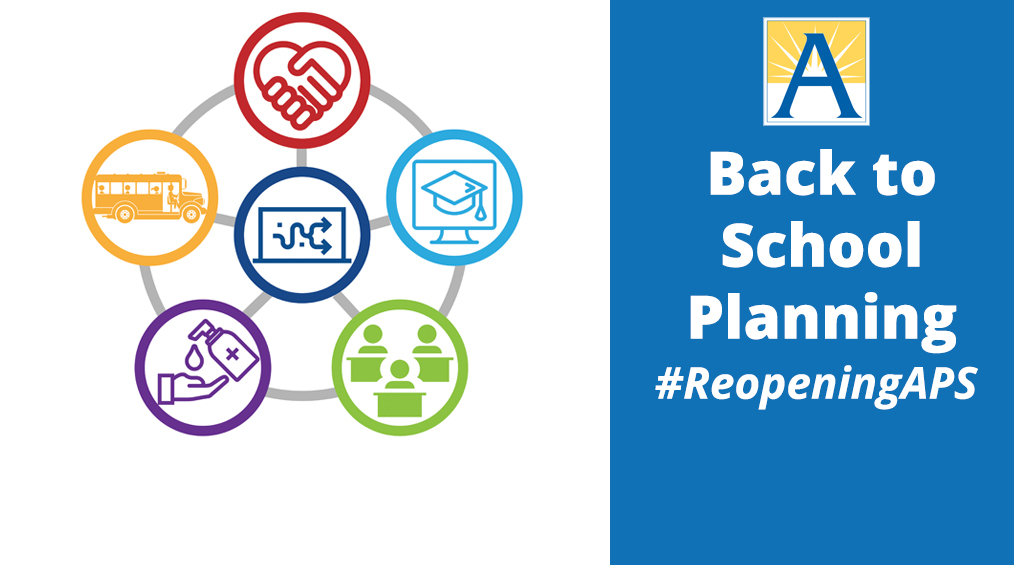 Back To School Planning  – #ReopeningAPS