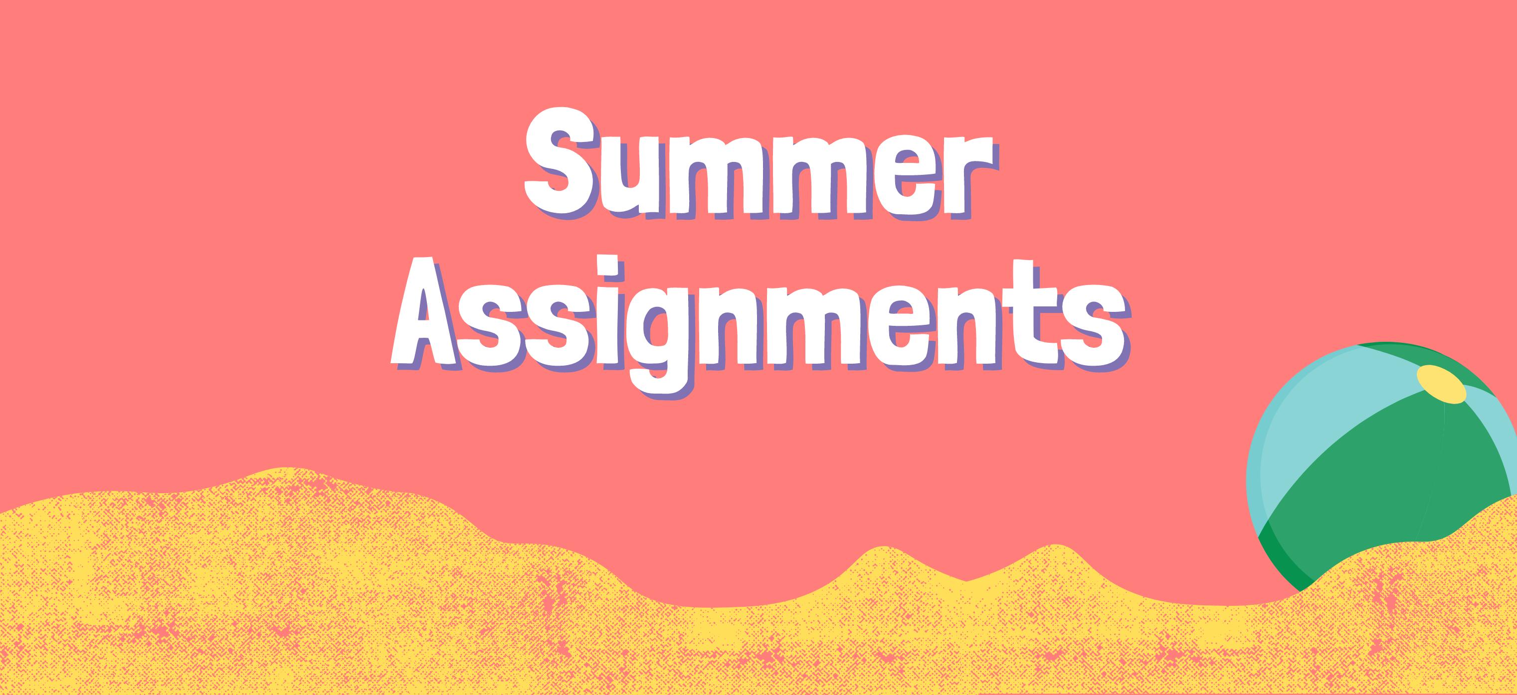 Sommeraufgaben für das Schuljahr 2021/22!